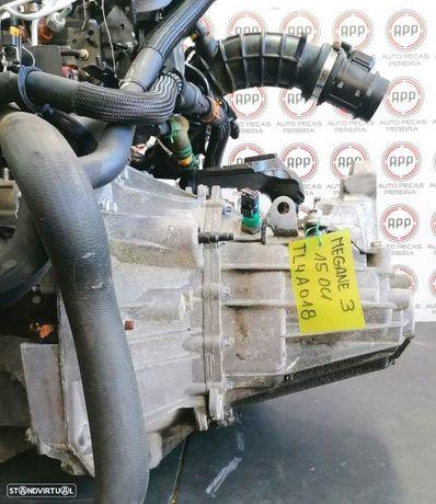 Caixa de 6 velocidades Renault Megane 3 1.5 DCI referência Tl4A018.