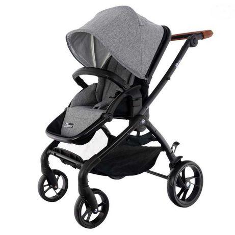 wózek winner brown/grey