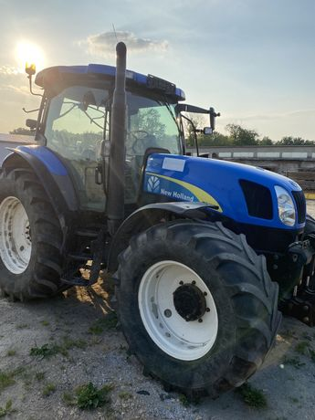New Holland Traktor ciągnik rolniczy Ts135a tuz, zamienię na ładowarkę