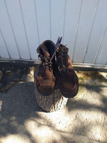 Ботинки замшевые, тактические