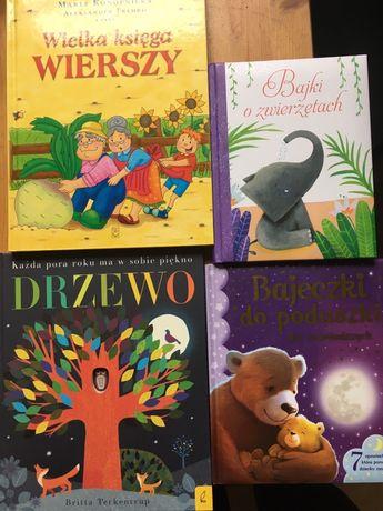 Książki dla dziecka - bajki i wiersze