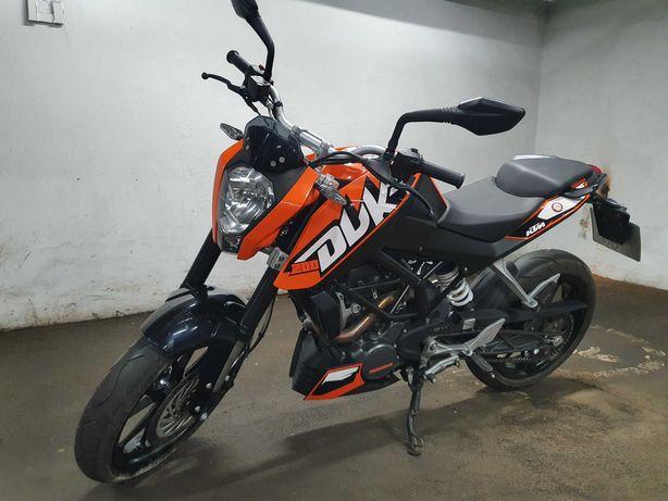 Мотоцикл KTM Duke 200 с документами