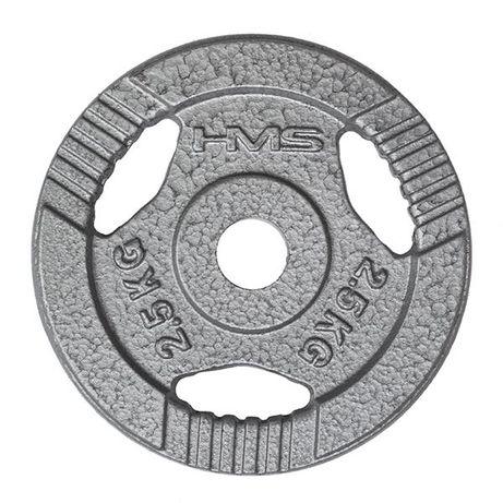 OBCIĄŻENIE ŻELIWNE 2,5kg Trening Domowy Siłownia Hantle Sztangi