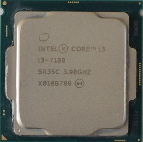 Процессор I3 7100 3.9GHz 3MB Intel Core 1151 SR35C   Гарантия 1 Год