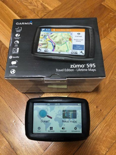 GARMIN Zumo 595 LM Lifetime Maps nawigacja motocyklowa samochodowa