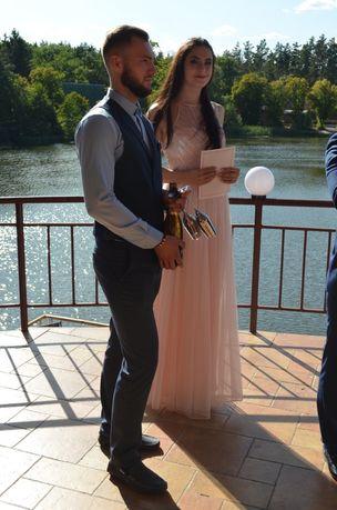 Вечернее платье, свадебное, для выпуского