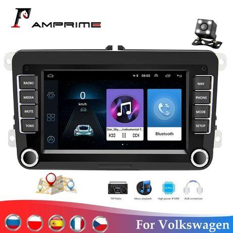 "Ваговская магнитола 2 din ""Android 8,1 для Volkswagen Skoda Seat"