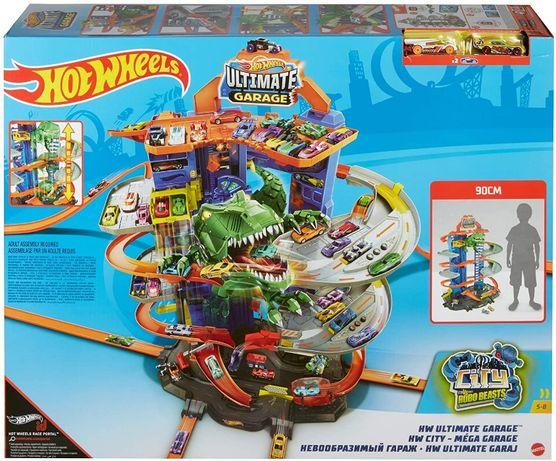 Hot Wheels T-Rex Легендарний Гараж (Игровой набор Хот Вилс - Новый нев