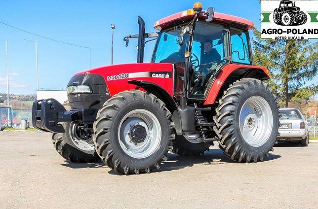 Трактор CASE IH MXM 120 - 2004 год - 8494 м/ч - состояние идеального