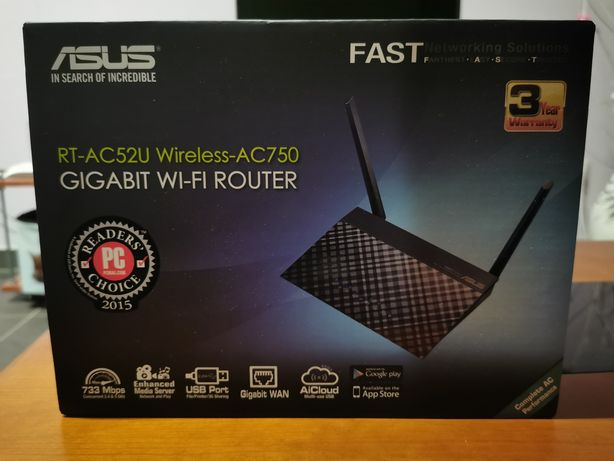 Router Asus RT-AC52U Wireless-AC759 3G 4G