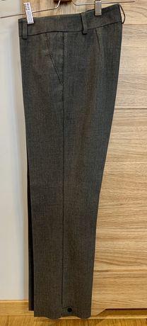 Spodnie w kant Simple rozmiar 34