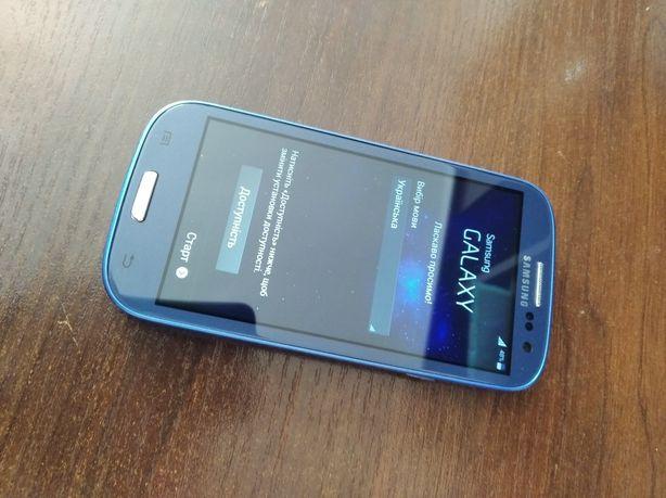 Телефон Samsung s3 в хорошем состоянии