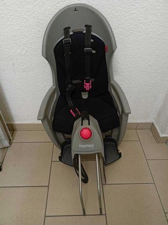 Fotelik na rower Hamax Siesta + dodatkowe mocowanie