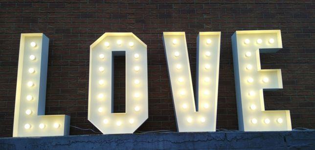 Sprzedam napis LOVE