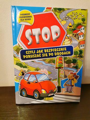 Książka edukacyjna Jak bezpiecznie poruszać się po drodze