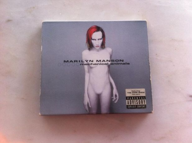 CD Marylin Manson (original) - Mechanical Animals
