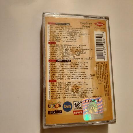 """Acid jazz """"Pozytywne wibracje """" vol 1 collection kaseta"""