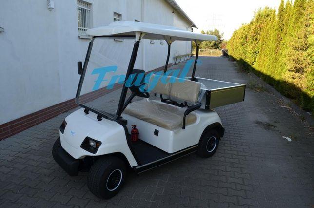Przemysłowy pojazd elektryczny 2 osobowy + skrzynia - FRUGAL