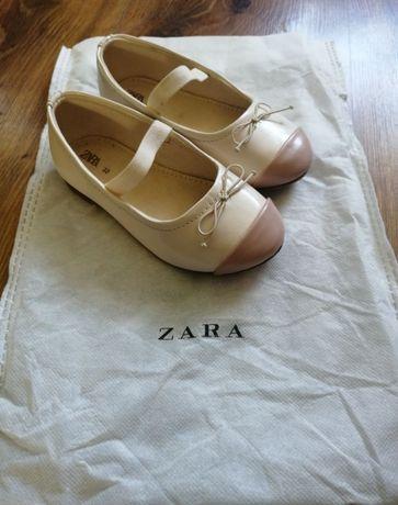 Baleriny dziewczęce Zara Kids r.23