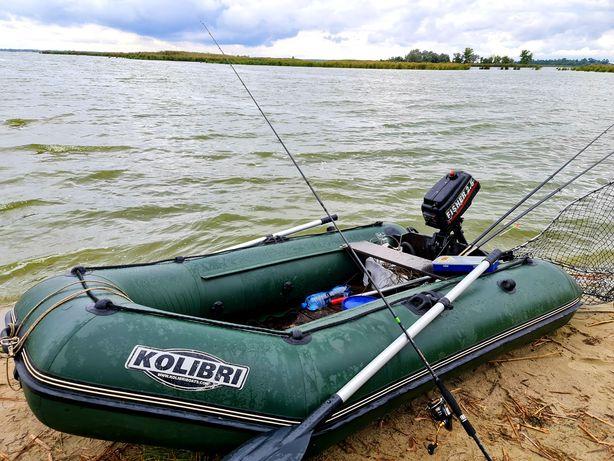 Kolibri KM-280 (Колибри КМ-280) надувная моторная лодка темно-зеленая