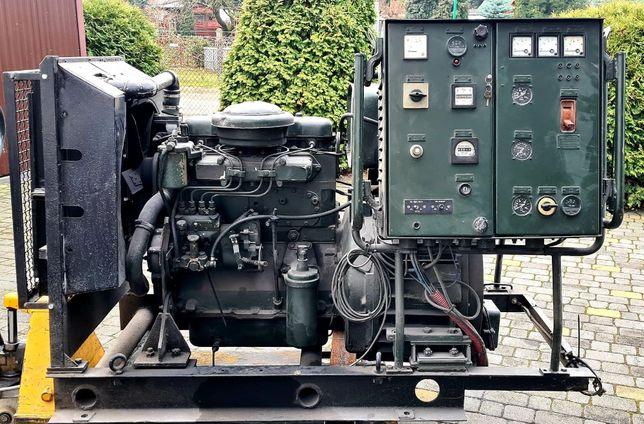 Agregat Prądotwórczy Elmor 30 kw; 37,5 kva 54,1 A; silnik Andoria