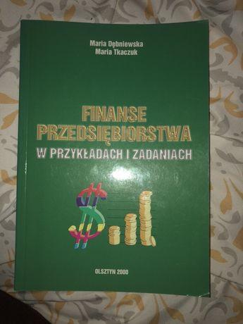 Ksiaążka Finanse przedsiębiorstw w zadaniach i przykladach