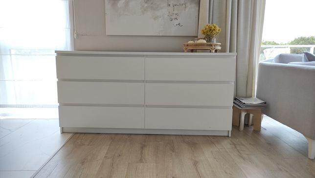 Biała komoda Malm Ikea 160 cm