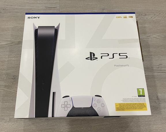 Sony Playstation 5 PS5 Standard (bluray) selada com factura e garantia