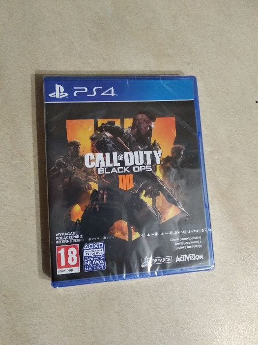 Call of duty BLACK OPS NOWA - FOLIA PS4 ; PS 4