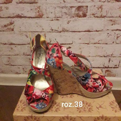 Sandałki rozmiar 38