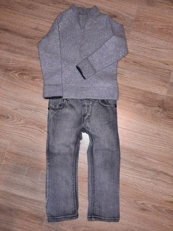 Комплект джинсы свитер
