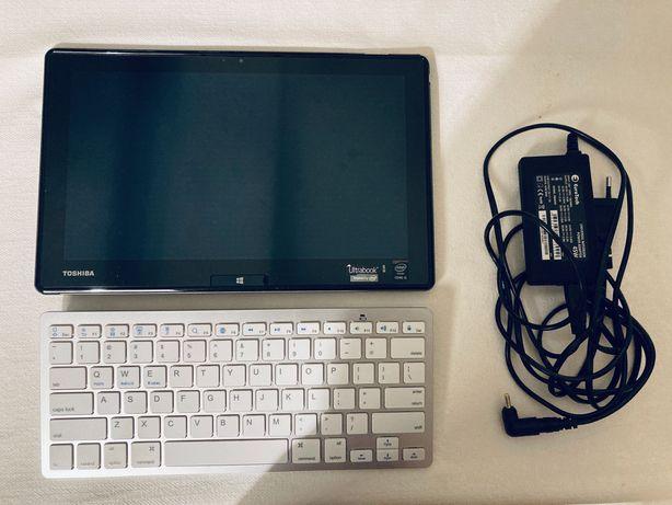 Tablet Toshiba Pro Windows 10 (com teclado e carregador)