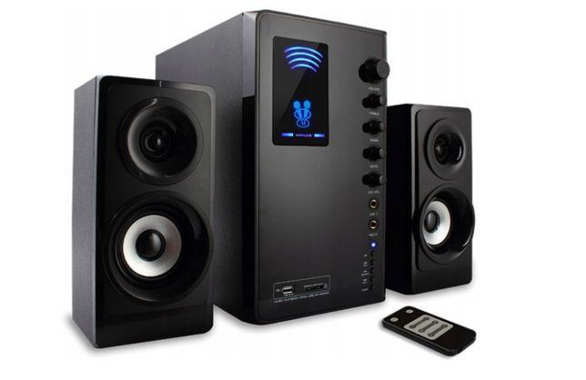 Kolumny komputerowe + wzmacniacz stereo - Zestaw audio!