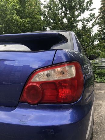 Фонарь задняя фара Subaru Impreza
