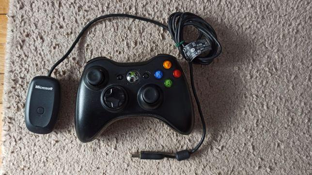 Pad Xbox 360 + adapter bezprzewodowy PC