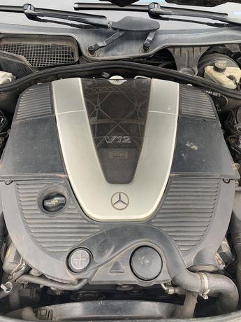M275 мотор w221 w216 mercedes двигатель S600