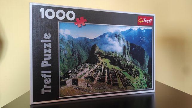 Puzzle 1000 Trefl   Machu Picchu