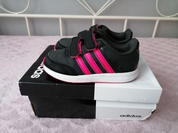Adidasy adidas różowo - czarne REZERWACJA