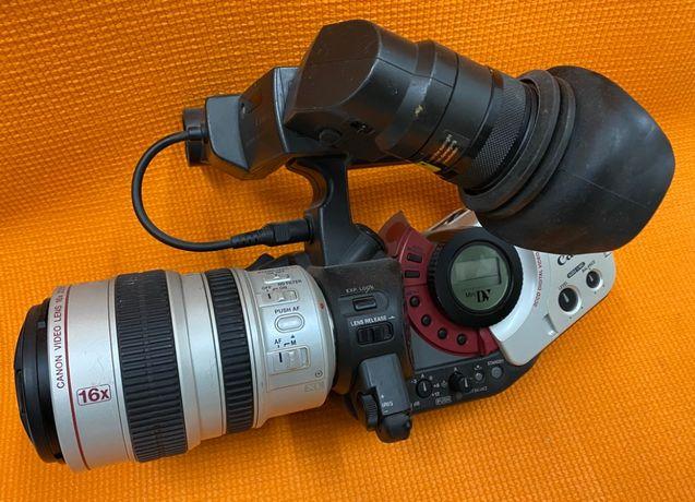 Kamera CANON XL1 + obiektyw 5.5-88mm + ładowarka