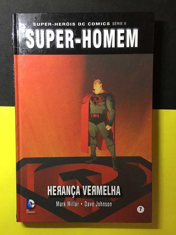 Super-Heróis DC Comics. Super-homem, Herança Vermelha (Portes Grátis)