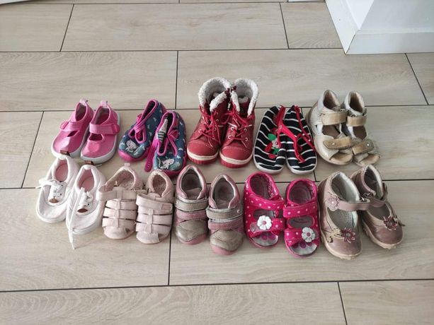 Buty dla dziewczynki 0-2 lata