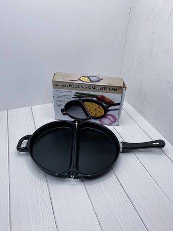Двойная сковорода для омлета Folding Omelette Pan