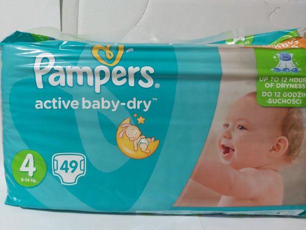 Підгузки Pampers Active Baby розмір 4 (9-14 кг)