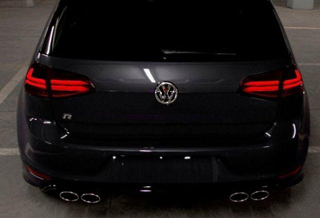 Lampy światła tył tylne VW GOLF VII 7 13+ Led Bar TUNING LED RED SMOK