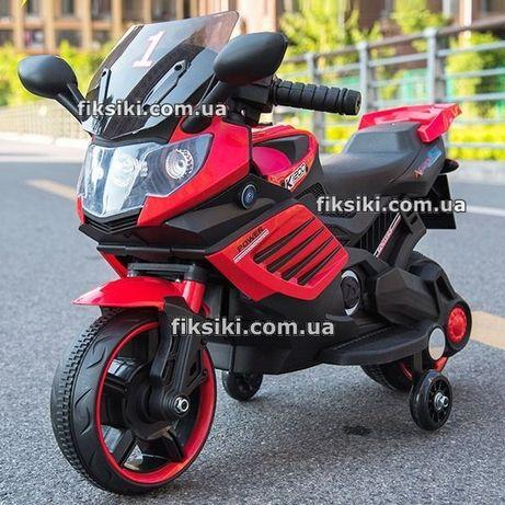 Детский мотоцикл электромобиль 3582 RED, Дитячий електромобiль