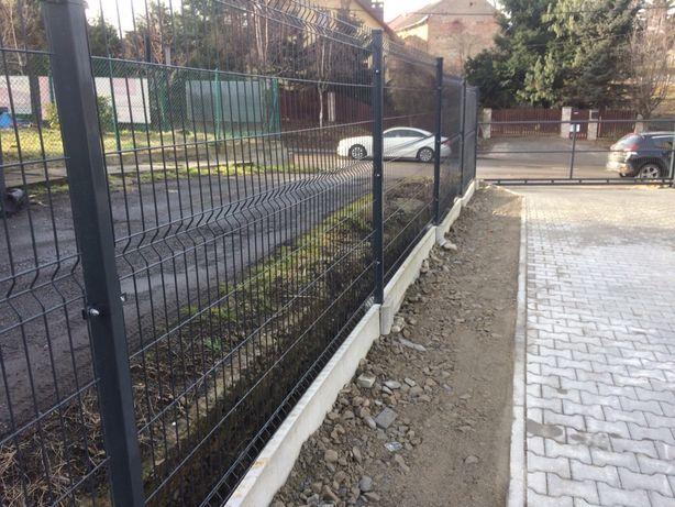 Nowoczesne ogrodzenia panelowe palisadowe furtki bramy sprzedaż montaż