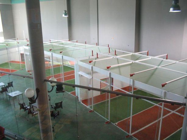 Campos futebol indoor (2 contra 2 , Jorkyball) - Venda do conceito