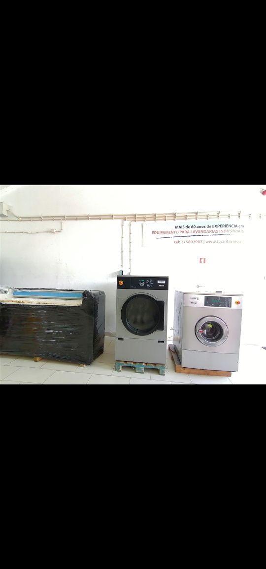 Máquina de lavar e secar roupa industrial ocasião Self-service