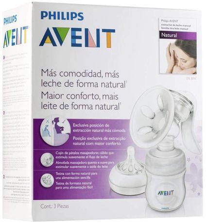 Bomba Philips Avent Extracção natural de leite materna