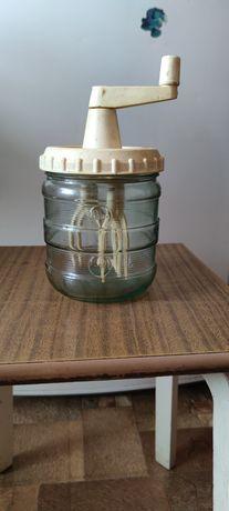 Сбивалка для крема, ручной миксер механический ссср